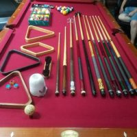 Pool Table With Accessories Included