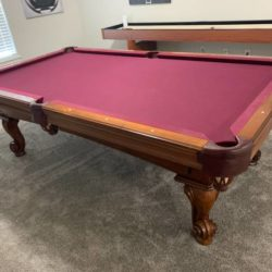 Olhausen Pool table 8ft