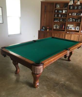 Beach Manufacturing Pool Table