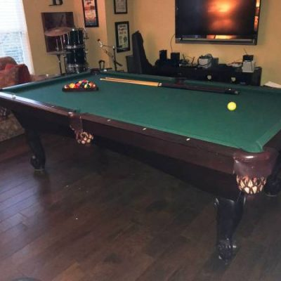 Connelly Pueblo 8ft Slate Pool Table