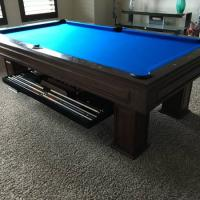 Landon II Pool Table and Drawer