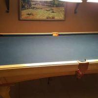 Pool Table And Other Game Room Items
