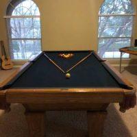Classy Brunswick Pool Table