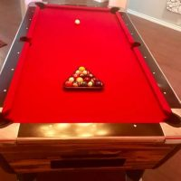 7 Foot Dynamo Pool Table with Accessories