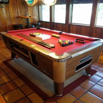 Valley Panther Coin-Operated Pool Table