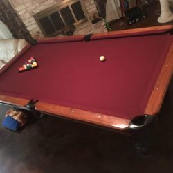 Pool Table 9 Footer Kasson