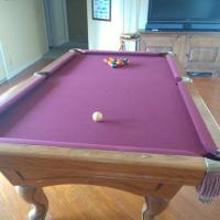 Tempo Pool Table and Accessories