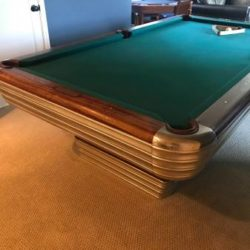 Antique Brunswick Centenial Billiard Table