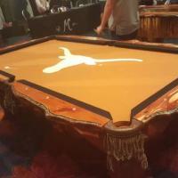 Custom Mesquite Pool Table