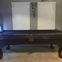 Pool Tables Oak Wood
