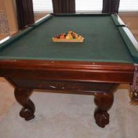 Rarely used Brunswick Billiards Westcott Pool Table