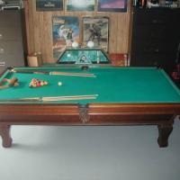 9' Gandy Pool Table