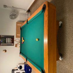 8 '. Diamond Pro pool table