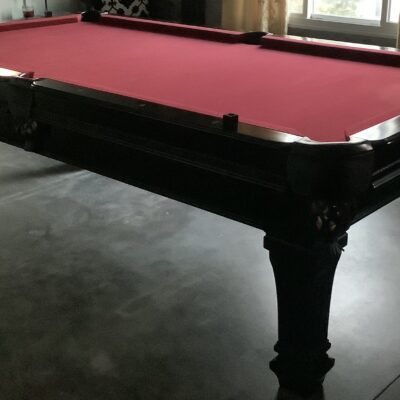 Pool Table Spencer Marston beautiful red felt excellent condition
