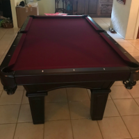 Belmont Pool Table with ping-pong conversion top